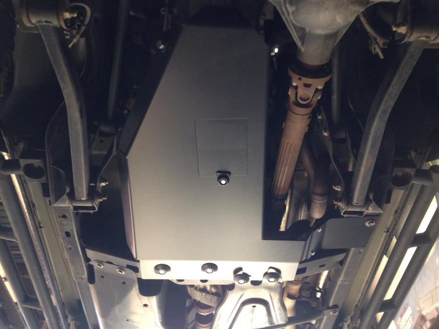 2017 Ford Bronco >> Rock Hard 4x4™ Oil Pan / Transmission Skid Plate - Short Arm/Factory Suspension for Jeep ...