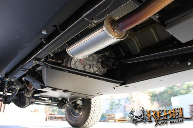 rock hard 4x4 u2122 transfer case skid plate for jeep wrangler
