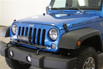 Rock Hard 4x4 Light Mount For Factory Front Bumper Jeep