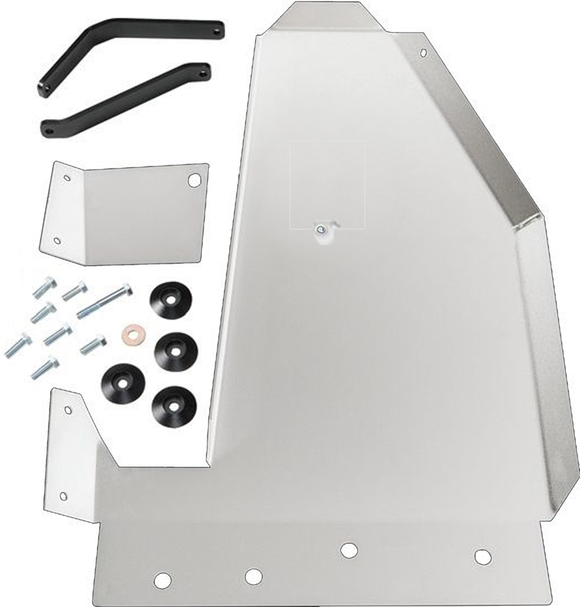 Rock Hard 4x4™ RHX Series Oil Pan / Transmission Skid Plate for Jeep Wrangler JK 2007 - 2018 [RH-6083]