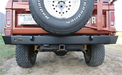 Rock Hard 4x4™ Patriot Series Rear Bumper for Ford Bronco 1966 - 1977 [RH-6100]