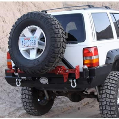 Rock Hard 4x4 Patriot Series Rear Bumper With Tire