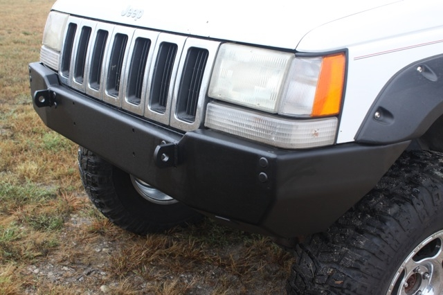 Can You Powder Coat Aluminum >> Rock Hard 4x4™ Patriot Series Front Bumper for Jeep Grand Cherokee ZJ 1993 - 1998 [RH-7002]