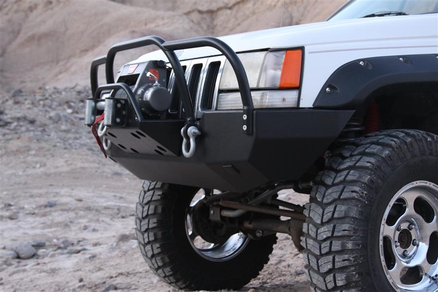 Jeep Grand Cherokee Off Road Bumper >> Rock Hard 4x4™ Patriot Series Front Bumper for Jeep Grand Cherokee ZJ 1993 - 1998 [RH-7002]