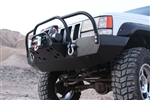 Rock Hard 4x4™ Bolt On Brush/Grille Guard for Jeep Grand Cherokee ZJ 1993 - 1998 [RH-7002-B]