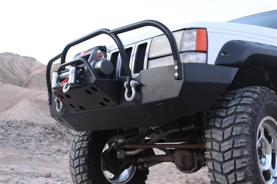 Rock Hard 4x4 Bolt On Brush Grille Guard For Jeep Grand