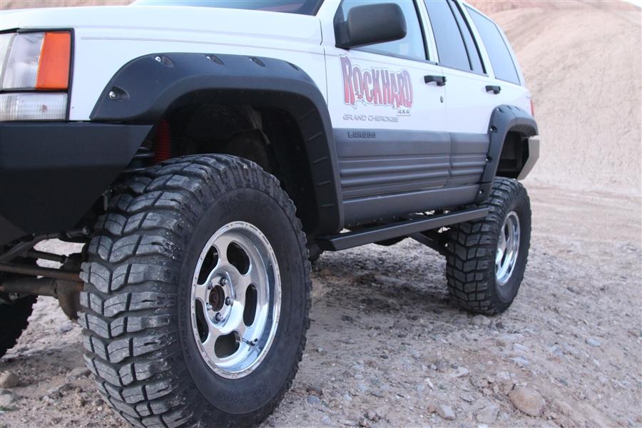 Rock Hard 4x4 Patriot Series Rocker Guards For Jeep Grand