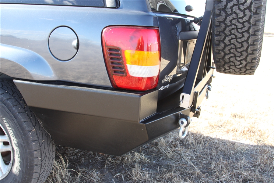 Jeep Patriot Sport >> Rock Hard 4x4™ Patriot Series Rear Bumper w/ Tire Carrier ...