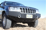 Rock Hard 4x4™ Patriot Series Front Bumper for Jeep Grand Cherokee WJ 1999 - 2004 [RH-7052]