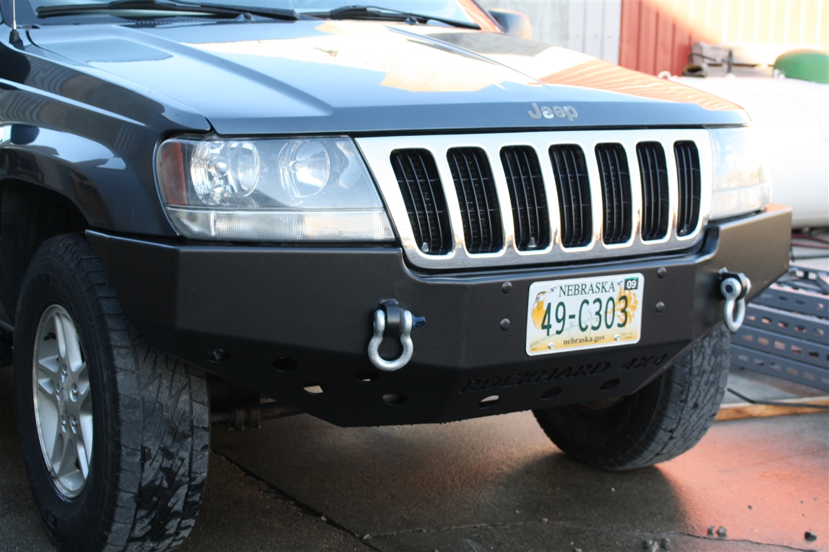 rock hard 4x4™ patriot series front bumper for jeep grand
