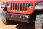 Rock Hard 4x4™ Patriot Series Grille Width Front Bumper for Jeep Wrangler JL and Gladiator JT2018 - Current [RH-90200]