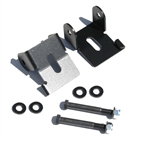 Rock Hard 4x4™ Bolt-On Front Lower Control Arm Skid Plates for Jeep Wrangler TJ/LJ, XJ, JK 1984 - 2018 D30/D44 [RH-9030]