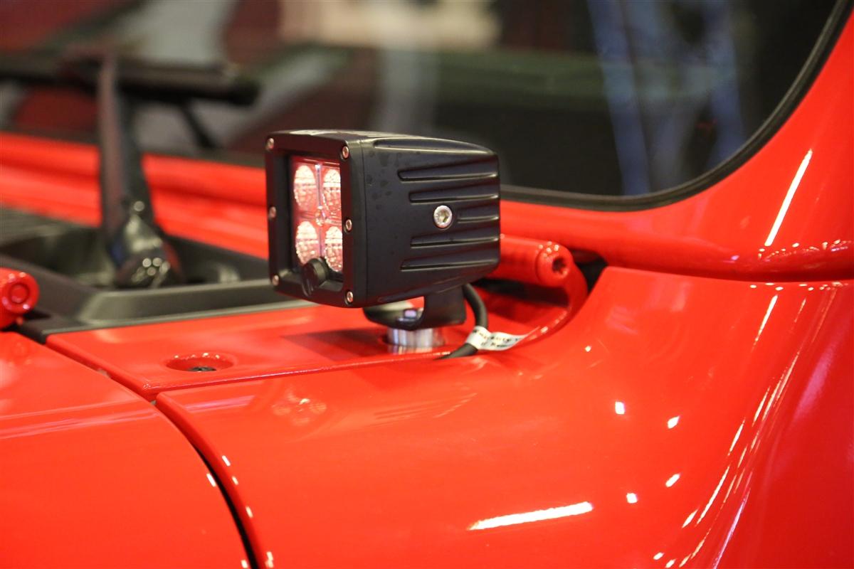Rock Hard 4x4 A Pillar Windshield Light Mounts For Jeep