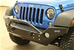 Rock Hard 4x4™ Aluminum Patriot Series Full Width Front Bumper for Jeep Wrangler JK 2007 - 2018 [RH-5046]