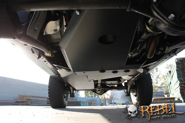 Rock Hard 4x4 Oil Pan Transmission Skid Plate Long